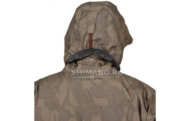 Костюм Shimano Rb-017t Gore-tex EU-L/ JP-LL Коричневый камуфляж фото №5