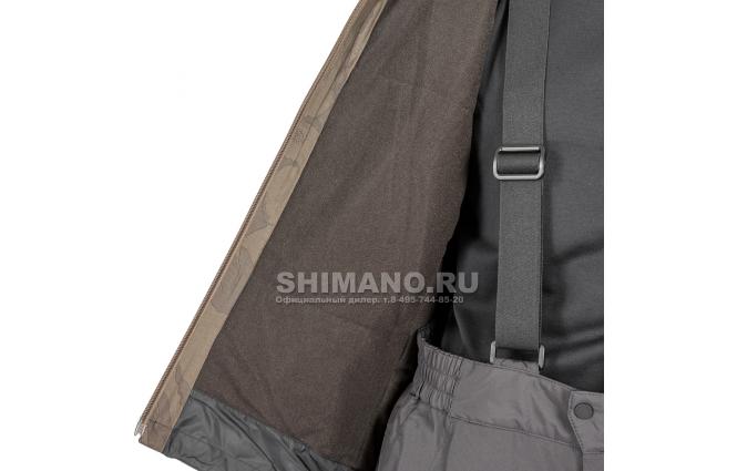 Костюм Shimano Rb-017t Gore-tex EU-L/ JP-LL Коричневый камуфляж фото №7