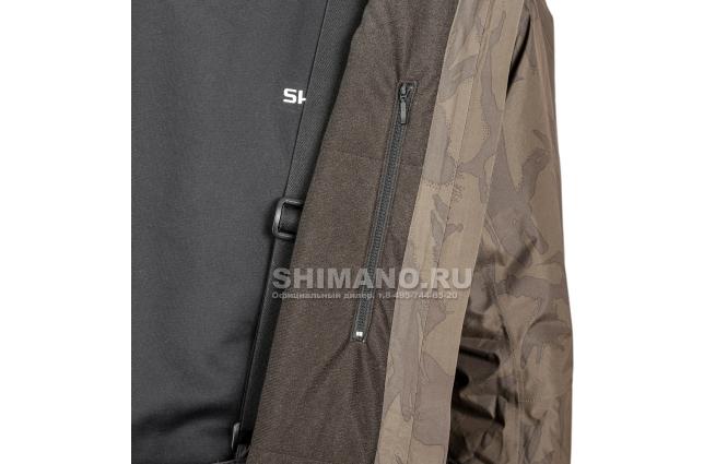 Костюм Shimano Rb-017t Gore-tex EU-L/ JP-LL Коричневый камуфляж фото №8