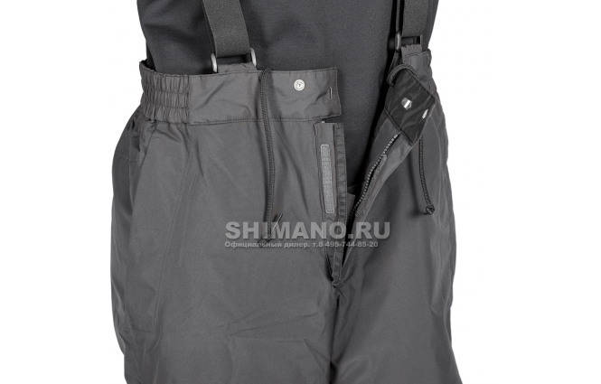Костюм Shimano Rb-017t Gore-tex EU-L/ JP-LL Коричневый камуфляж фото №9