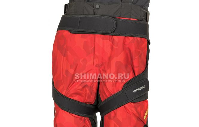 Подкладки Shimano Gu-011s (Размер JP 2XL) Красный фото №2