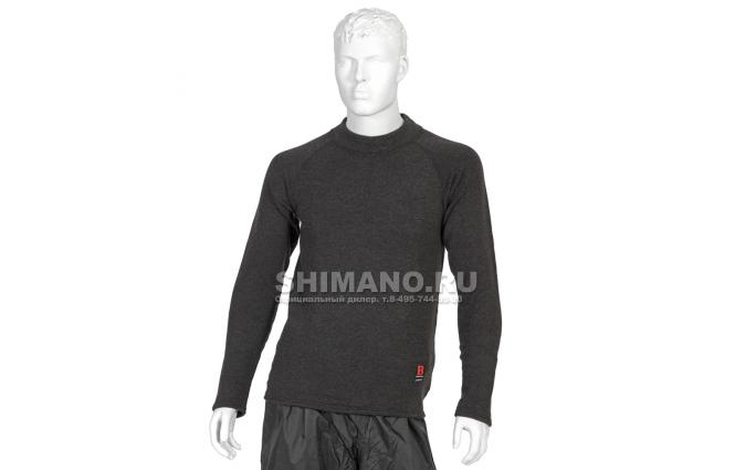 Термобелье Shimano Breath Hyper Thick Фуфайка IN-021K NECK L фото №1