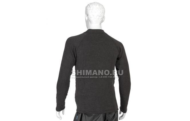 Термобелье Shimano Breath Hyper Thick Фуфайка IN-021K NECK L фото №2