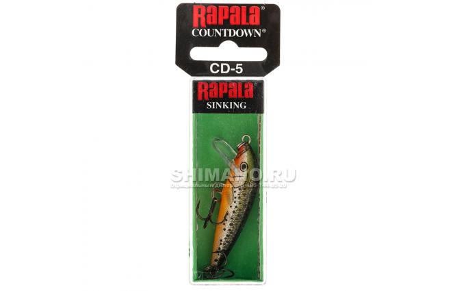 Воблер Rapala Countdown CD05-RFSM фото №2