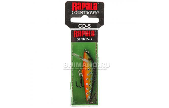 Воблер Rapala Countdown CD07-BTR фото №2