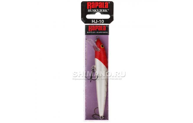 Воблер Rapala Husky Jerk HJ10-RH фото №2