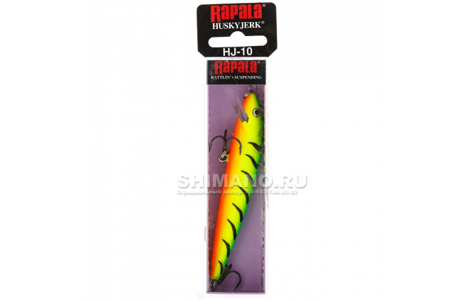 Воблер RAPALA HUSKY JERK HJ14-FT фото №2