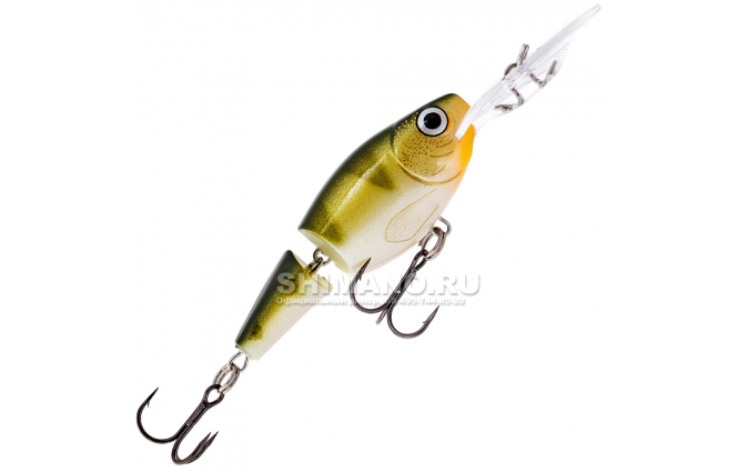 Воблер RAPALA JOINTED SHAD RAP JSR05-YP фото №1