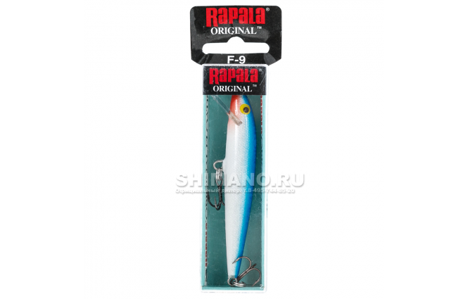 Воблер RAPALA ORIGINAL FLOATING F11-B фото №2
