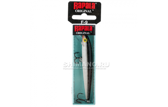 Воблер Rapala Original Floating F11-S фото №2