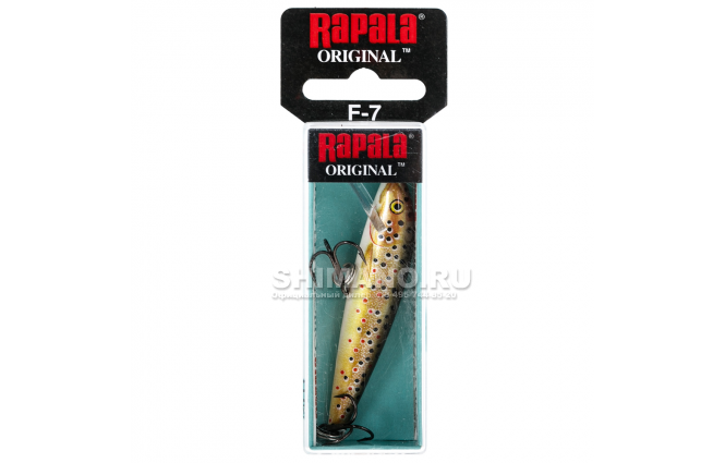 Воблер RAPALA ORIGINAL FLOATING F13-TR фото №2