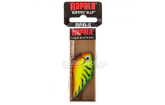 Воблер RAPALA RIPPIN' RAP RPR06-FT фото №2