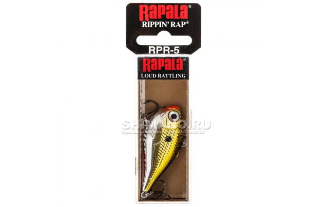 Воблер Rapala Rippin' Rap RPR07-GCH фото №2