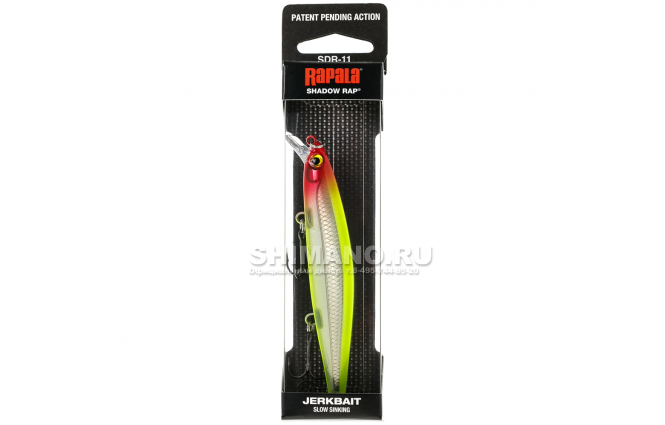 Воблер Rapala Shadow Rap SDR07-CLN фото №2