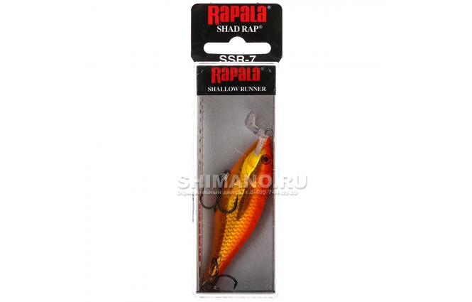 Воблер RAPALA SHALLOW SHAD RAP SSR05-GF фото №2