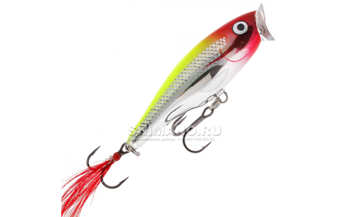 Воблер Rapala Skitter Pop SP07-CLN фото №1