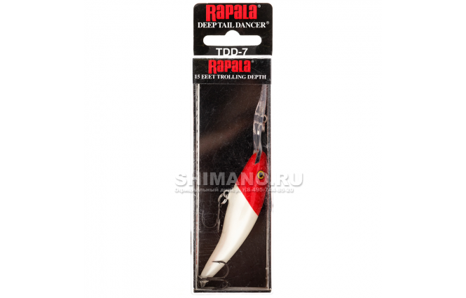 Воблер RAPALA TAIL DANCER DEEP TDD07-RH фото №2