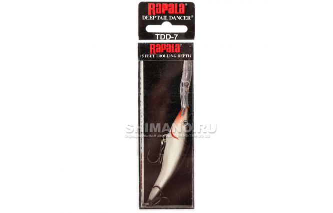 Воблер RAPALA TAIL DANCER DEEP TDD07-S фото №2