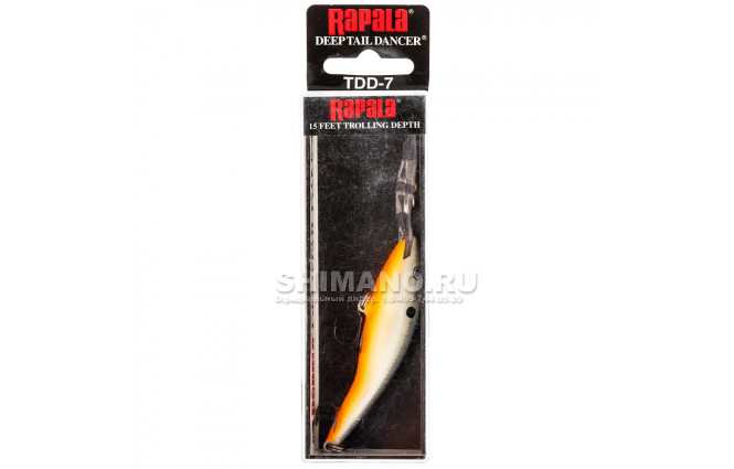 Воблер RAPALA TAIL DANCER DEEP TDD09-OPSD фото №2