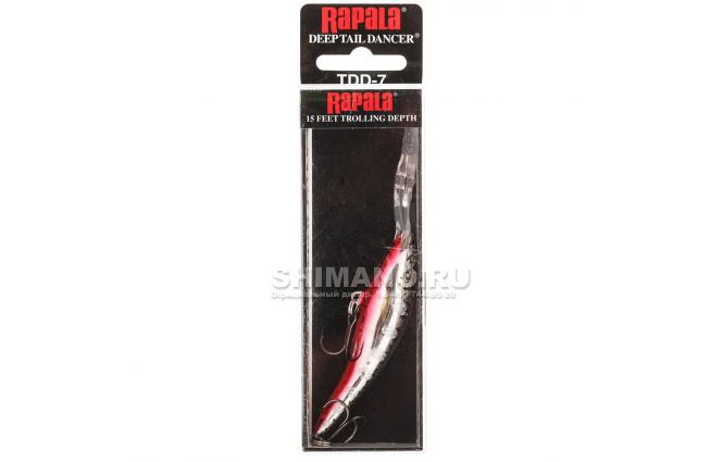 Воблер RAPALA TAIL DANCER DEEP TDD09-SFL фото №2