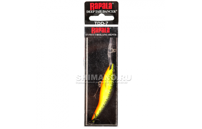 Воблер Rapala Tail Dancer Deep TDD11-HS фото №2