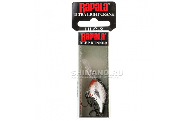 Воблер Rapala Ultra Light Crank ULC03-CH фото №2
