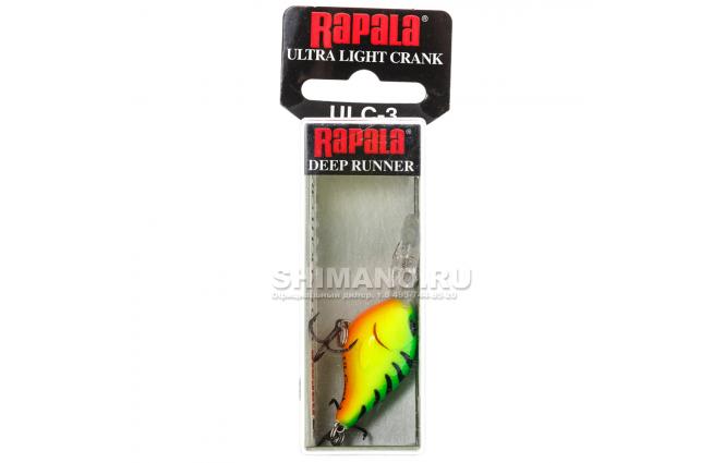 Воблер Rapala Ultra Light Crank ULC03-FT фото №2