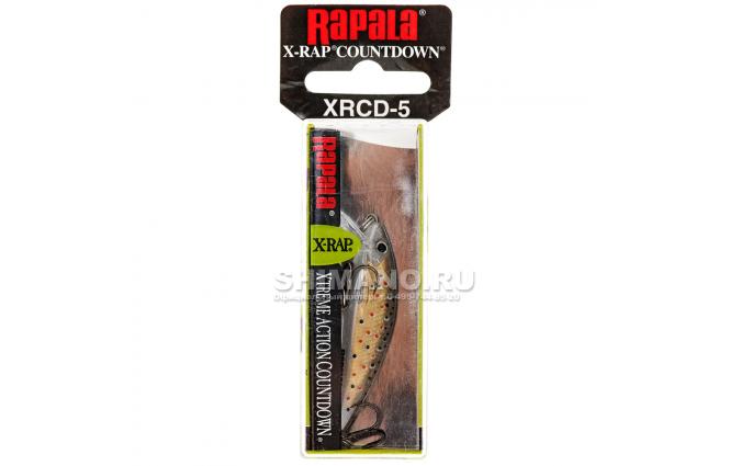 Воблер Rapala X-rap Countdown XRCD05-TR фото №2