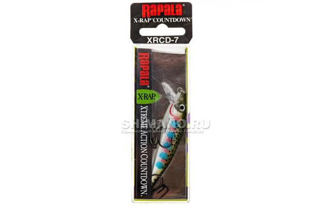 Воблер RAPALA X-RAP COUNTDOWN XRCD07-RT фото №2