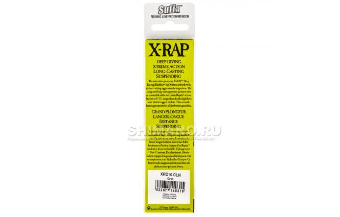 Воблер RAPALA X-RAP DEEP XRD10-CLN фото №3