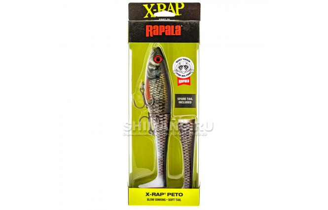 Воблер Rapala X-rap Peto XRPT20-ROL фото №3