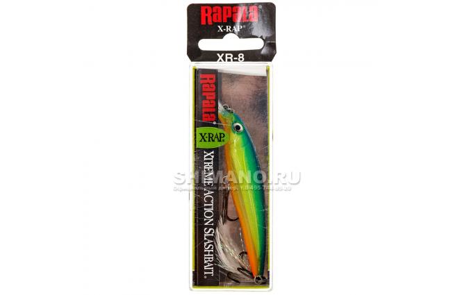 Воблер RAPALA X-RAP XR08-PRT фото №2