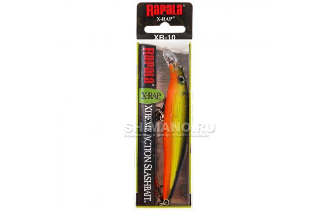 Воблер RAPALA X-RAP XR10-HS фото №2