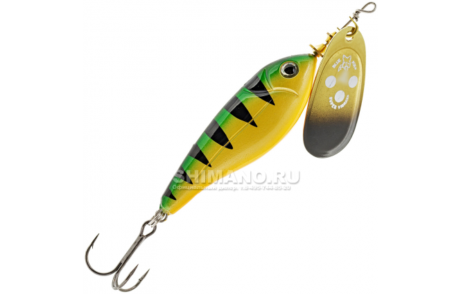 Вращающаяся блесна Blue Fox Minnow Super Vibrax BFMSV2-GP фото №1