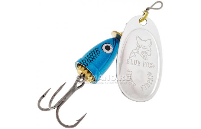 Вращающаяся блесна BLUE FOX VIBRAX SHAD BFSD-1 BS фото №1