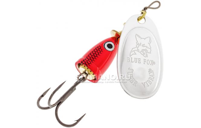 Вращающаяся блесна BLUE FOX VIBRAX SHAD BFSD-3 RS фото №1